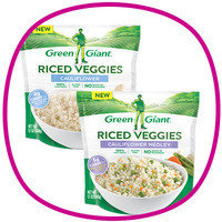 Hungry Girl's Time-Saving Food Finds: Green Giant Frozen Riced Veggies