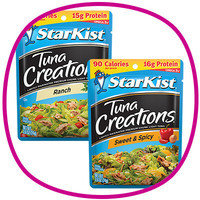 Hungry Girl's Time-Saving Food Finds: StarKist Tuna Creations (classic varieties)