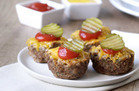 Cheeseburger Mini Meatloaves