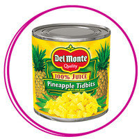Hungry Girl Smoothie Ingredients: Canned pineapple packed in juice