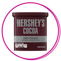 Hungry Girl Smoothie Ingredients: Unsweetened cocoa powder