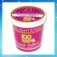 Hungry Girl's Frozen Dessert Finds: Enlightened The Good-For-You Ice Cream in Caramel Oatmeal Cookie Crunch