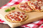 Gluten-Free Recipe: Cutie-Pie Cauliflower-Crust Pepperoni Pizzas