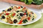 Gluten-Free Recipe: Creamy Mediterranean Spaghetti Squash
