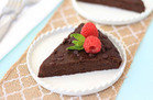 Gluten-Free Recipe: Fudgy Flourless Chocolate Cake