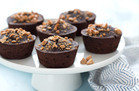 Gluten-Free Recipe: Mini Flourless PB Chocolate Cakes
