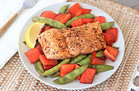 Balsamic Honey Salmon 'n Veggies