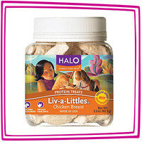 Hungry Girl's 1-Click Wonders: Halo Liv-a-Littles Chicken Breast Protein Treats
