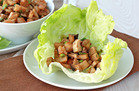 Hungry Girl Pre-Cooked Chicken Meal: Mega Chicken & Shrimp Lettuce Wraps