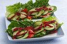 No-Cook HG Recipe: Smokey Salmon Lettuce Wraps