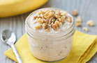 No-Cook HG Recipe: Banana Bread Overnight Oats