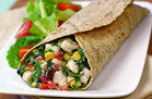 No-Cook HG Recipe: Mexi' Shrimp Salad Wrap