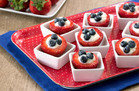 No-Cook HG Recipe: Red, White & Blueberry Stuffed Strawberries