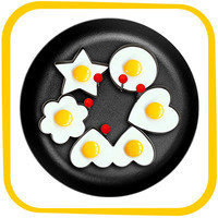Hungry Girl's 1-Click Wonder: MayPal Stainless Steel Fried Egg Ring Mold Cooker