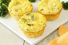 Kale & Cheddar Egg Bakes