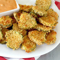 State Fair Food Swap: Instead of Deep-Fried Pickles... Faux-Fried Pickle Chips!
