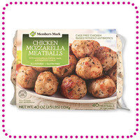 HG Sam's Club Find: Mark Chicken Mozzarella Meatballs