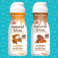 Coffee-Mate Natural Bliss in Pumpkin Spice and Maple Pecan