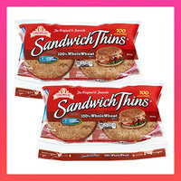 HG Bread Picks & Alternatives: 100-Calorie Flat Sandwich Buns