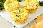 HG Muffin-Pan Recipe: Kale & Cheddar Egg Bakes