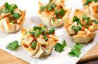 HG Muffin-Pan Recipe: Thai Oh My Chicken Wonton Cups