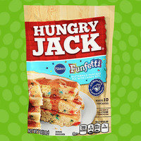 Hungry Jack Pillsbury Funfetti Buttermilk Pancake Mix with Candy Bits
