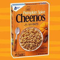Healthy Pumpkin Products for 2017: Cheerios Limited Edition Pumpkin Spice Cereal