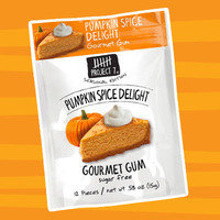 Healthy Pumpkin Products for 2017: Project 7 Seasonal Edition Pumpkin Spice Delight Sugar Free Gourmet Gum