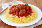 5-Ingredient-or-Less Meals in 30 Minutes Max: Speedy Spaghetti Squash and Meatballs