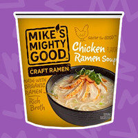 Mike's Mighty Good Craft Ramen Chicken Flavor Ramen Soup Cup