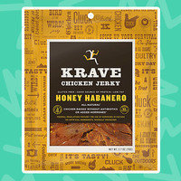 KRAVE Chicken Jerky in Honey Habanero