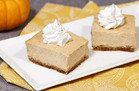The Great Pumpkin Cheesecake Bars