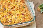 Hungry Girl Veggie Swap: BBQ Chicken & Cauli' Rice Casserole