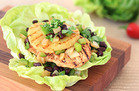 Hungry Girl Veggie Swap: Jerk Chicken Lettuce Wrap