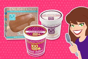 ENLIGHTENED Ice Cream Compared to Light Ice Cream