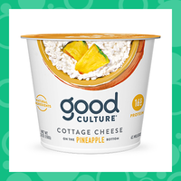 Good Culture Cottage Cheese with Pineapple on the Bottom