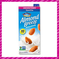Lisa's Kitchen Staples: Unsweetened Vanilla Almond Breeze