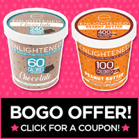 Special BOGO Offer: Buy 1 ENLIGHTENED Ice Cream Product, Get the 2nd One FREE!