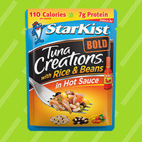 StarKist Tuna Creations BOLD with Rice & Beans in Hot Sauce