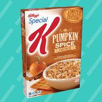 Kellogg's Special K Limited Edition Pumpkin Spice Crunch