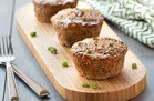 HG Comfort Food Hacks: Jumbo Teriyaki Meatloaf Muffins