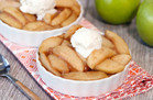 Scoopable Slow-Cooker Apple Pie