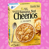 Limited Edition Banana Nut Cheerios