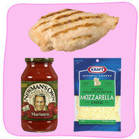 Easy Healthy Ways to Dress Up Chicken: Go Naked Chicken Parm
