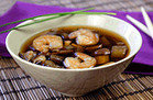 Healthy HG Soup Recipes: Kazu's Special Eggplant & Shrimp Soup