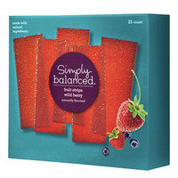 HG's Healthy Target Finds: Simply Balanced Fruit Strips in Wild Berry