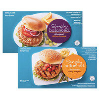 HG's Healthy Target Finds: Simply Balanced All Natural Chicken and Turkey Burgers