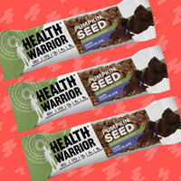 Health Warrior Pumpkin Seed Superfood Bar in Dark Chocolate