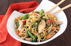 Healthy Foods That Supersize: Zucchini-Noodle Lo Mein