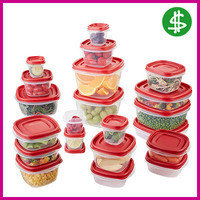 SAVE: Rubbermaid Easy Find Lids Food Storage Container 42-Piece Set